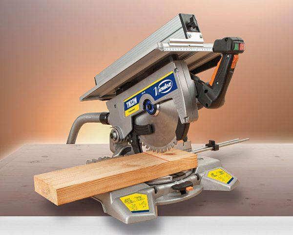 tronzar madera con ingletadora