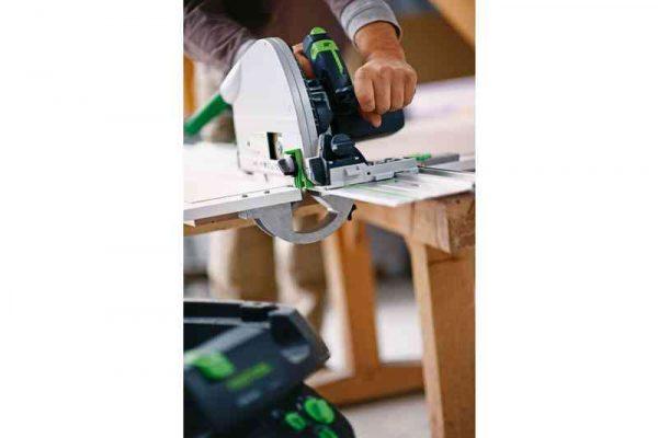 serrando madera con ts-75-ebq-plus