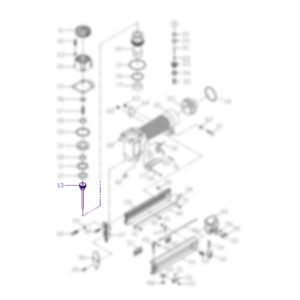 piston para clavadora hp 2330